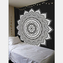 Mandala square Printed Tapestry Wall Hanging or Throw Blanket. FREE SHIPPING