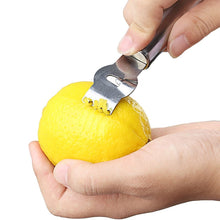 Stainless Steel Lemon Zester. Use this cool tool on any citrus fruit and get the best Zest ever!