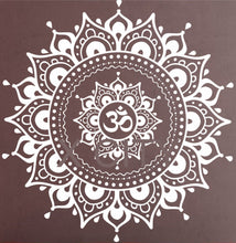 Mandala Pattern Big Wall Decal Vinyl Art Sticker Yoga Lotus Meditation. FREE SHIPPING