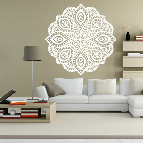 Indian Hindu Buddha Mandala DIY Wall Stickers. FREE SHIPPING