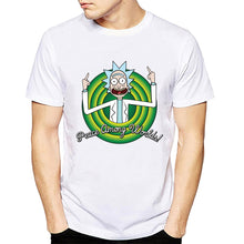 New Arrival Pickle Rick men t shirt Anime T-shirts Peace among worlds folk tee shirt homme Rick and Morty TShirt Men Camisetas