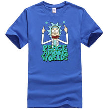 New Rick And Morty Casual Men & Women's T-shirts. 100% cotton.