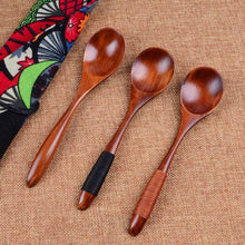 Wooden Spoon Bamboo Kitchen Cooking Utensils