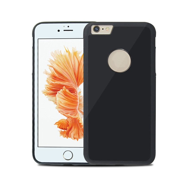 Magical Nano Suction Anti Gravity Phone Case For iPhone X 8 7 6S Plus. Great for selfies!