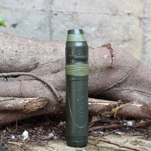 Outdoor survival Camping equipment military water straw filter.