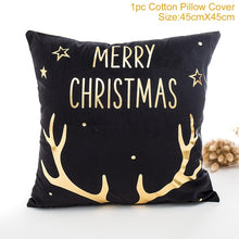 QIFU Merry Christmas Decoration for Home Christmas Ornaments Christmas 2018 Deer Santa Claus Happy New Year 2019 Decor Christmas