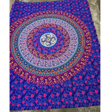 Retro Rectangular Indian Mandala Tapestry or beach towel. FREE SHIPPING