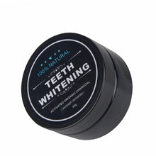 Activated Bamboo Charcoal Tooth Powder Removes Coffee & Tea Stains