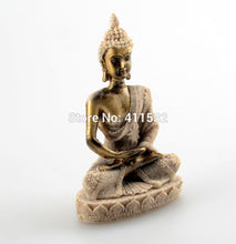 Thailand style feng shui resin buddha statue.  Let good energy flow through your home. FREE SHIPPING