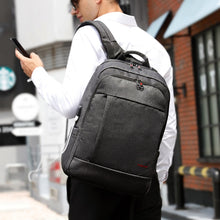 Anti thief USB backpack 15.6 to 17inch laptop backpack.  Be safe when you travel.