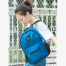 Nylon waterproof  Backpacks. Light and easy to carry.