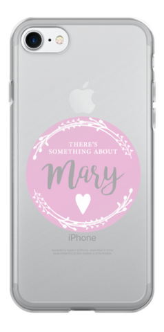 iPhone Case - Our Mary pink logo