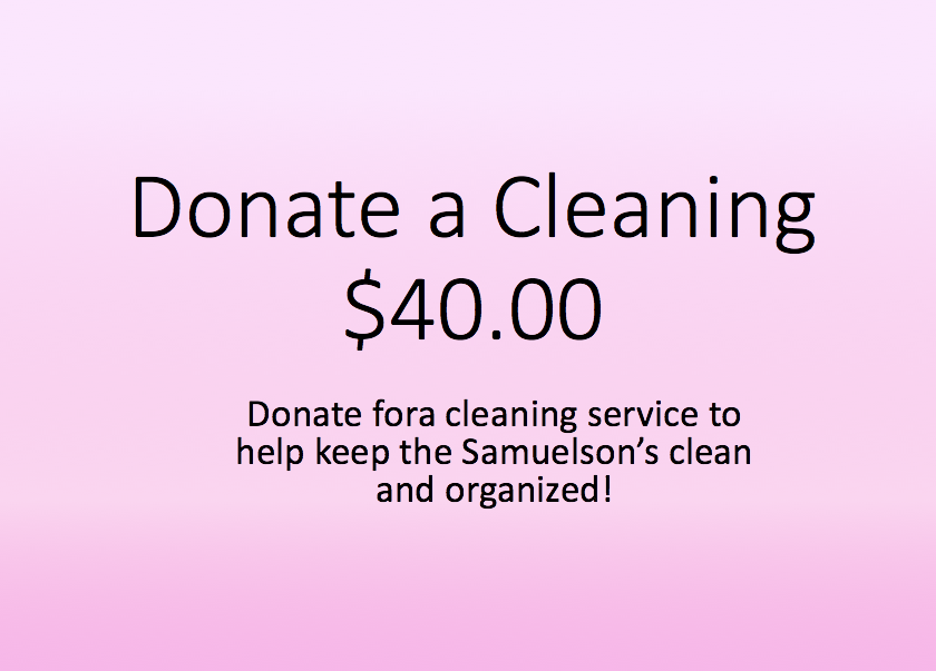 Donate for Cleaning