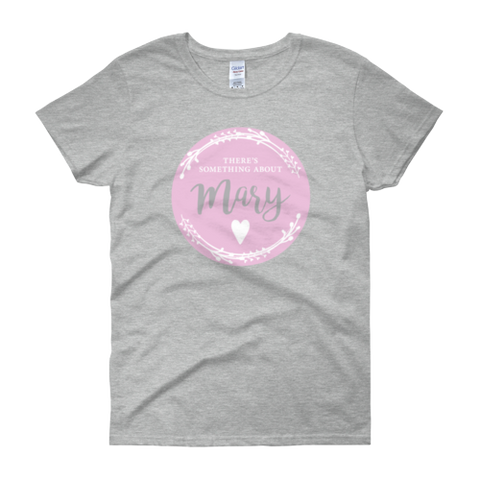 Our Mary T-shirt  - Women's Grey