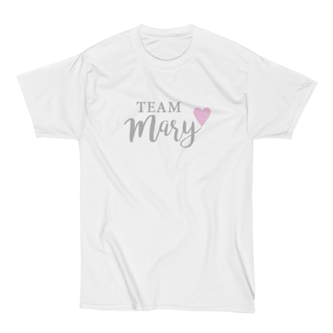 Our Mary T-shirt  - Men's White
