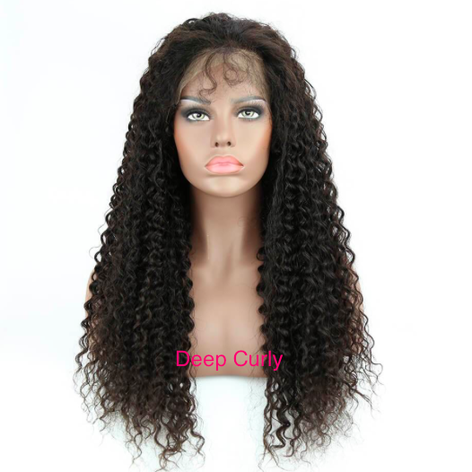 13 x 6 Transparent Lace Front Wig