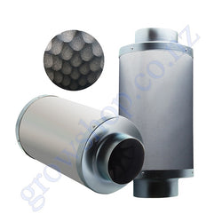 Inline Duct Silencer 100mm