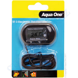 Min-Max Temperature Small Digital Thermometer - Hygrometer Aquaone