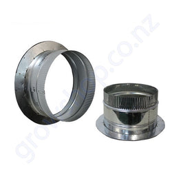 Flanged 200mm Ducting Collar