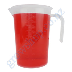 1 Litre Graduated Measuring Jug Clear Plastic