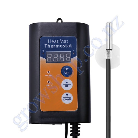 Thermostat Digital for Heat Mats or Pads 20 to 42 Degrees