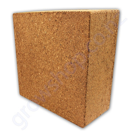 Coir - Cocopeat Standard Grade- Block 4.5 Kg expands to approx 60 Litres hydrated