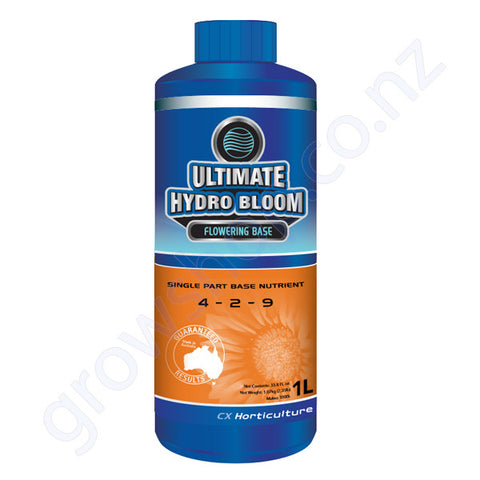 Ultimate Hydro Bloom CX 1 Litre Single Part