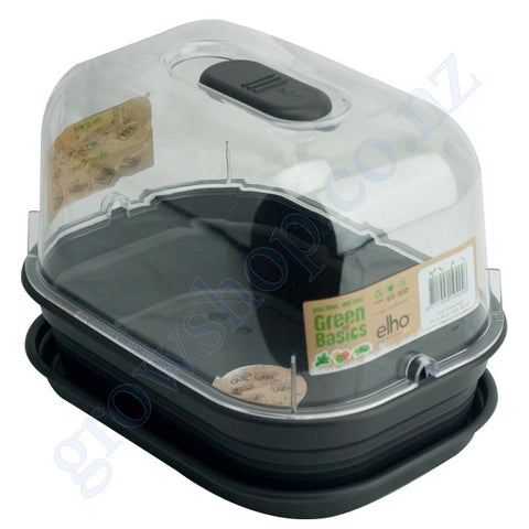 Propagation Chamber Small 240mm x 170mm x 198mm Complete with Saucer, Tray, Humidity Lid