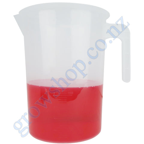 5 Litre Graduated Measuring Jug Clear Plastic