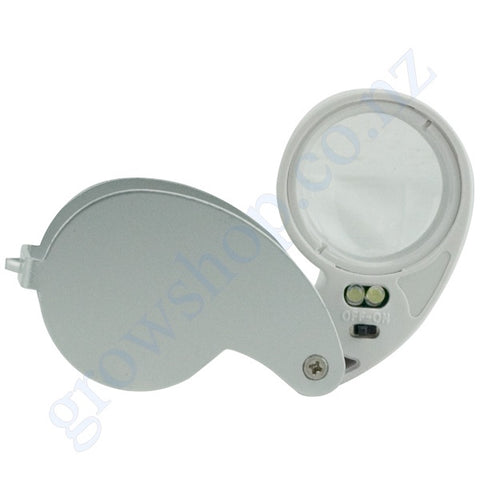 Loupe 40 times magnification with LED illuminator
