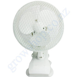 Fan 180mm Oscillates 2 Speed Desk, Clip or Wall Fan