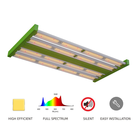 200w 4 Bar Model C - Full spectrum LED Grow Light