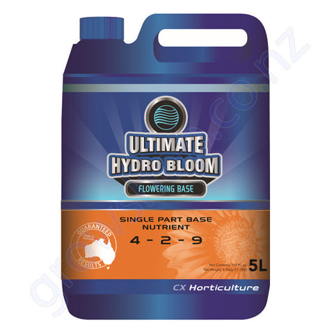 Ultimate Hydro Bloom CX 5 Litre Single Part