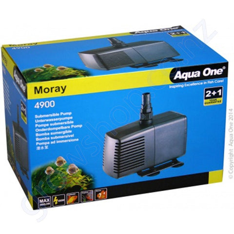 4900 Moray Water Pump -4800 Litres Per Hour 3.4m Mh/h