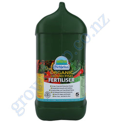 Bio Marinus 5 Litre - NPK 2.20-1.55-0.28 Biological Fertiliser