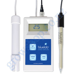 Combo Meter PLUS version bluelab pH, CF and Temp