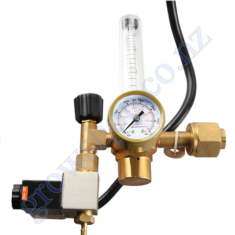 Co2 Regulator & Solenoid Set
