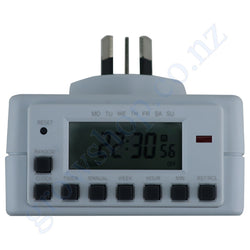 Timer 24 Hour Digital Arlec PC698