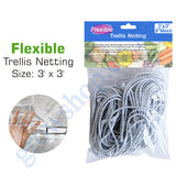 Flexible Trellis Netting 150mm x 150mm squares - 3ft x 3ft unstretched Pack