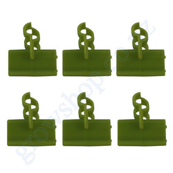 Grow Cap Hose Clip 6 pack for Rockwool cube caps