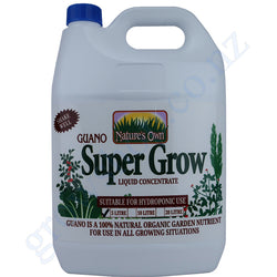 Guano 10-10-2 Supergrow 5 Litre