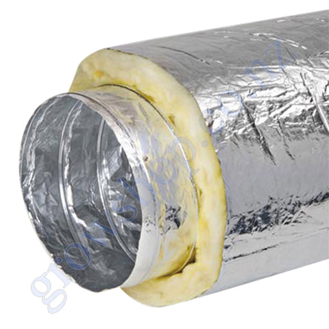 Ducting Insulated 100mm x 10 Metres