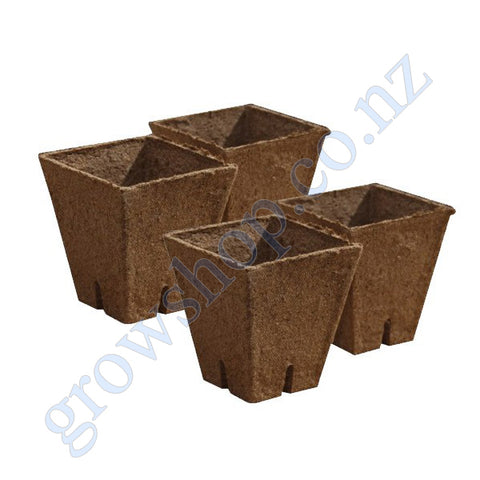 Jiffy Easi Grow 60mm square biodegradable pots pack of 24