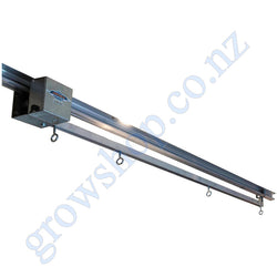 Light Mover c/w Push Rod 2 light Fitting Mounting & 2.4 Metre Rail Jupiter 2