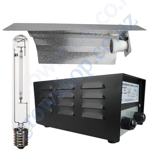 Light Kit 250w Mag Ballast, Super Plant HPS Lamp & Reflector Wing 470mm x 343mm