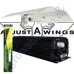 Light Kit 400w Digi Blackline Ballast, Son-T Agro Philips HPS Lamp & Medium Avenger Adjustawings