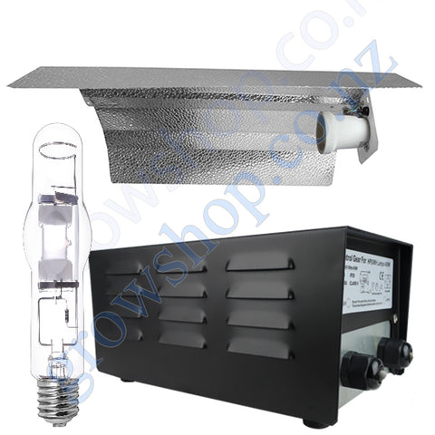 Light Kit 400w Standard Ballast, Metal Halide Lamp & Reflector Wing 470mm x 343mm