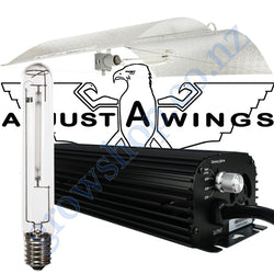 Light Kit 600w Digi Blackline Ballast, Super Plant HPS Lamp & Large Enforcer Adjustawings