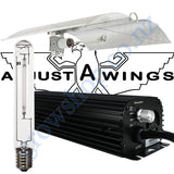 Light Kit 600w Digi Blackline Ballast, Super Plant HPS Lamp & Medium Enforcer Adjustawings