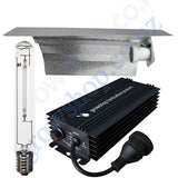 Light Kit 600w GHP Digi Ballast, Super Plant HPS Lamp & Reflector Wing 470mm x 343mm